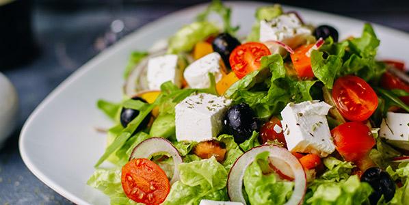 Speisekarte Salate