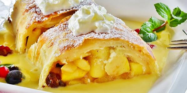 Speisekarte Dessert